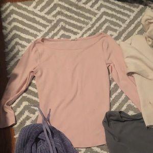 Pink garage top